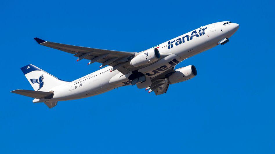 Sars-CoV-2 breitet sich international über Flüge aus, Iran Air bietet Verbindungen zwischen Teheran und Deutschland an