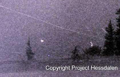 Lichter über Hessdalen: Was wollen die Außerirdischen in Norwegen?