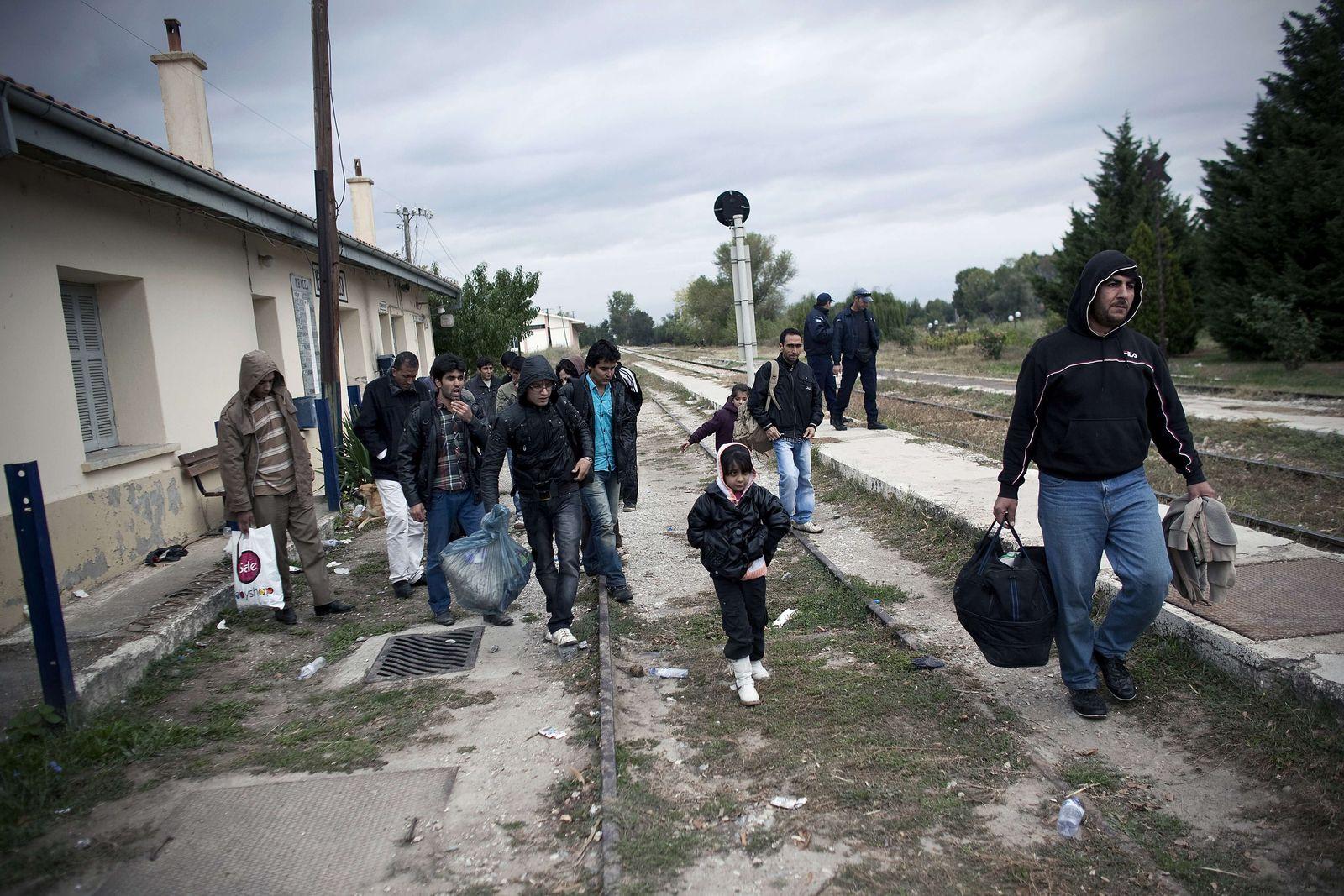 flüchtlinge greichenland eu