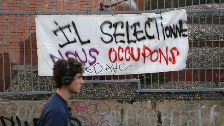 "Uni-Proteste in Frankreich: ""Eure Selektion ist unser Widerstand"""