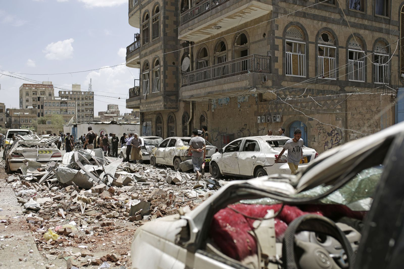 Jemen Konflikt/ Krieg/ 2019