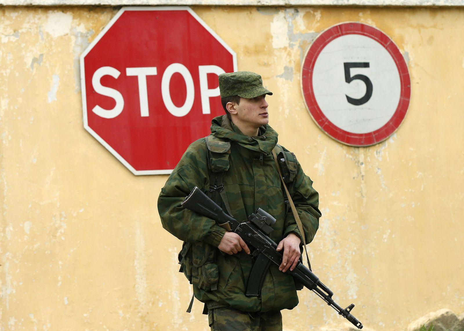 Krim russischer Kämpfer