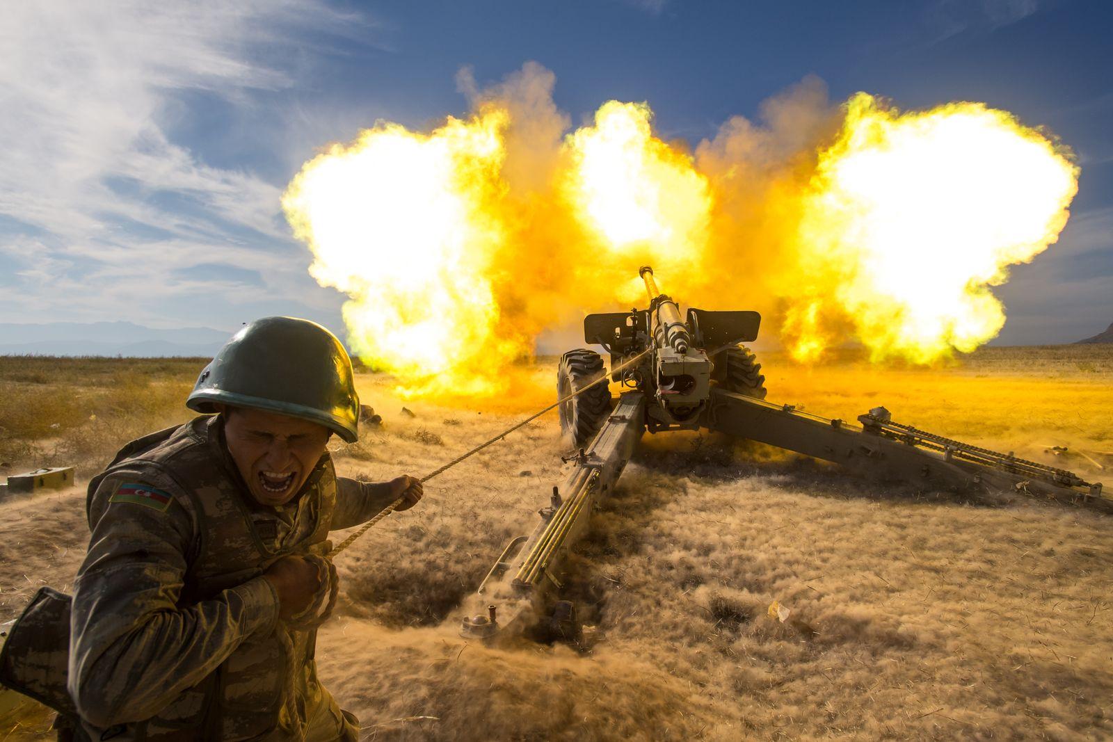 Border clashes between Azerbaijan, Armenia
