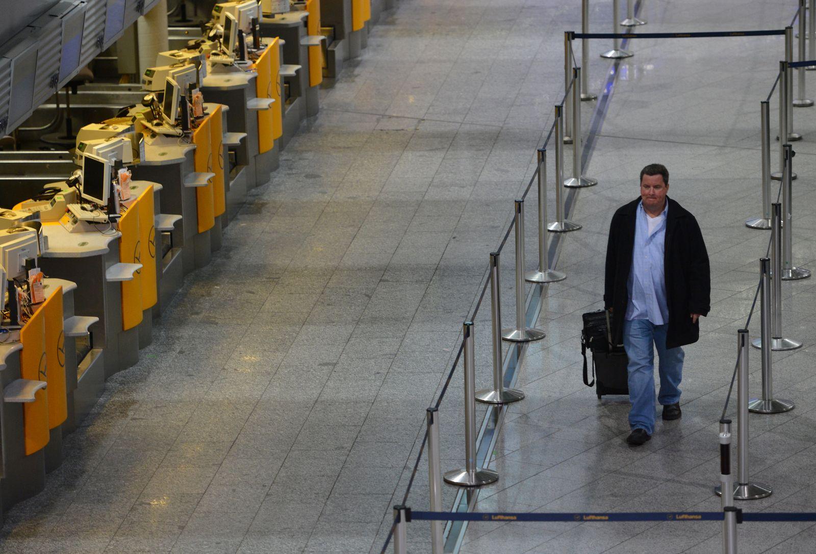 Warnstreik/Lufthansa