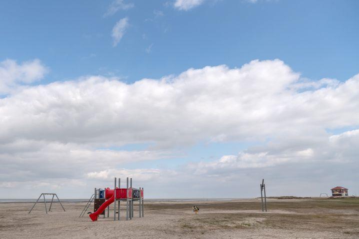 Strand in Hooksiel, Niedersachsen