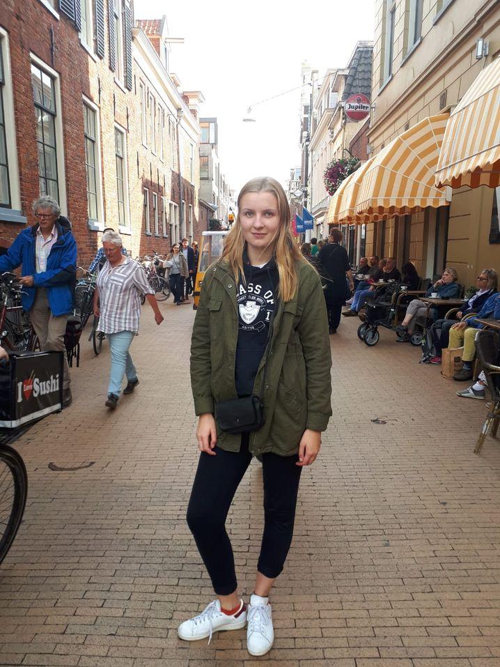Judith Parra in Groningen