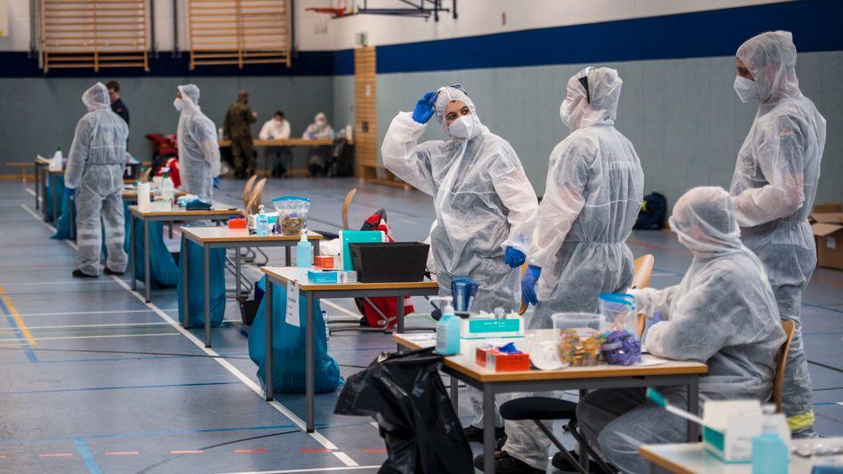 Coronatests im Dezember 2020 in Hildburghausen: »Der gesamte Prozess des Katastrophenschutzes muss optimiert werden«