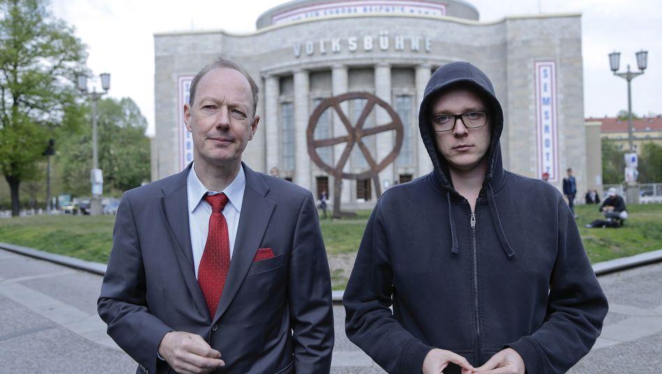 »Die Partei«-Politiker Sonneborn, Semsrott (Archivfoto)