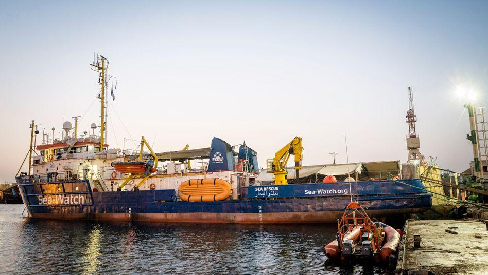 "Rettungsschiff ""Sea-Watch 3"""