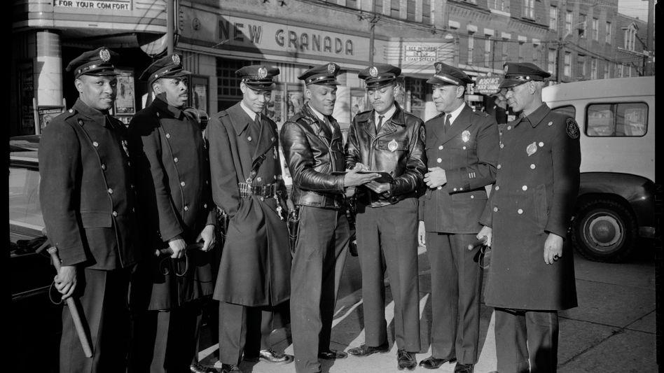 Frühe afroamerikanische Polizisten