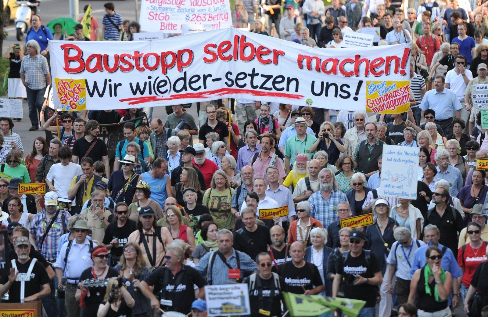 Stuttgart 21 / Protest