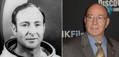 """Ex-Astronaut Edgar Mitchell 1972 und im Jahr 2007: """"Wir sind nicht allein"""""""