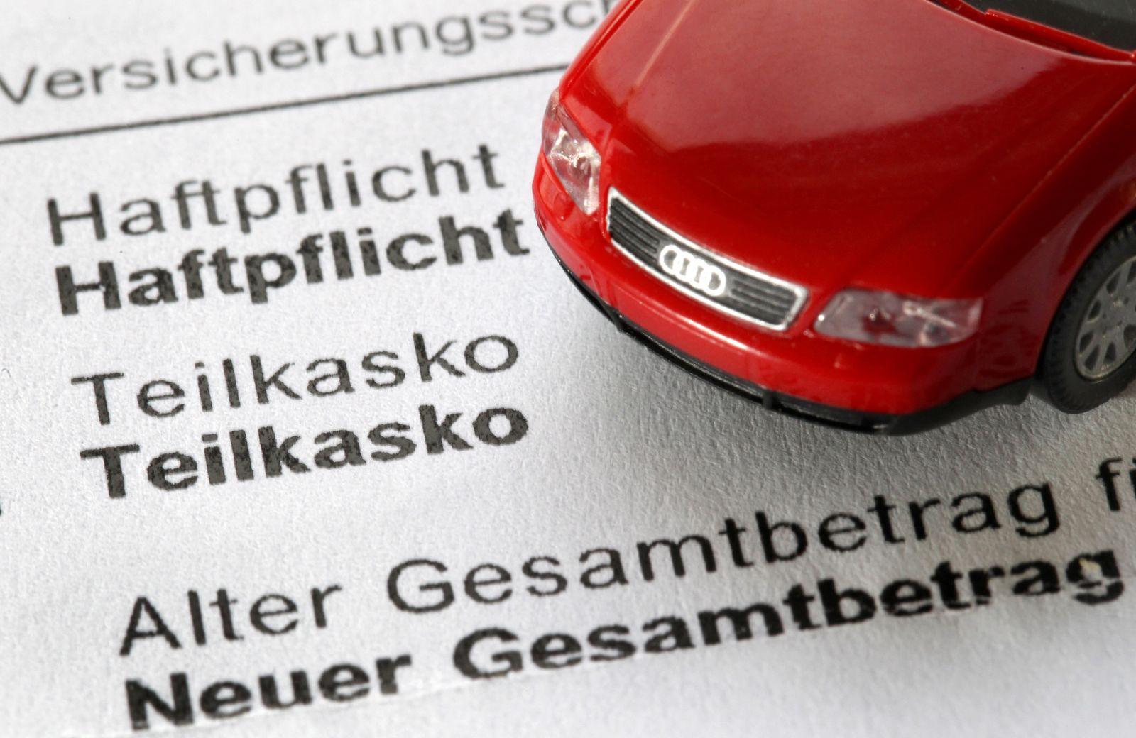Autoversicherung / KFZ-Versicherung