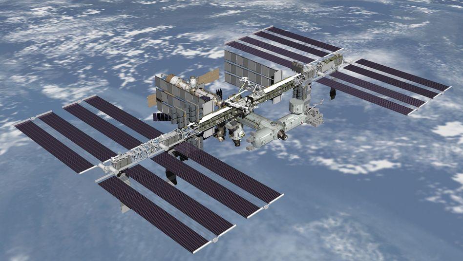 Künstlerische Darstellung der ISS: Russland wünscht sich eigenen Außenposten