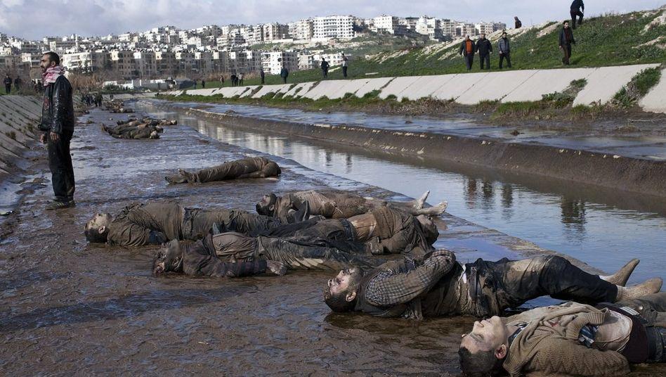 Opfer am Fluss Kuwaik: Sie dachten, ihnen würde nichts geschehen