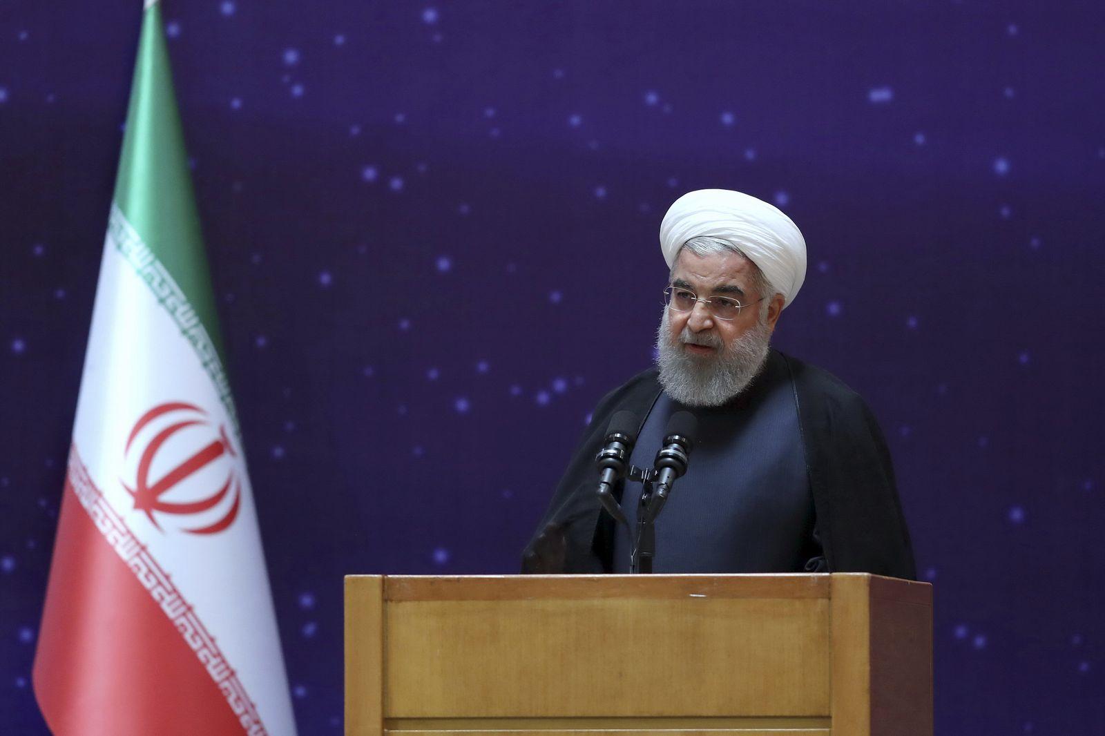 Präsident Hassan Ruhani