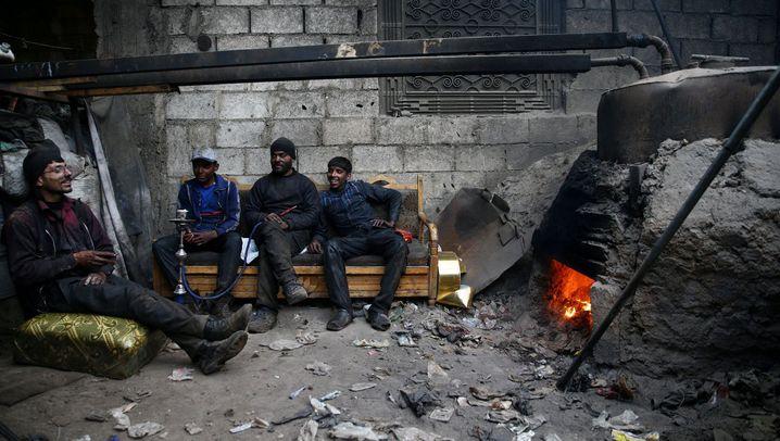 Syrien: Blick in Abu Kassems Raffinerie