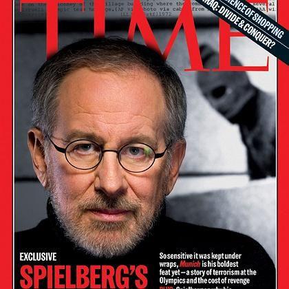 Filmemacher Steven Spielberg auf dem Cover des Time Magazine 2005: Aus Protest zurückgetreten