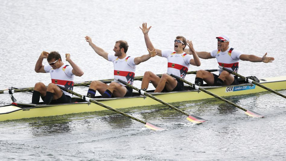 Deutschlands Doppelvierer: Gold in London