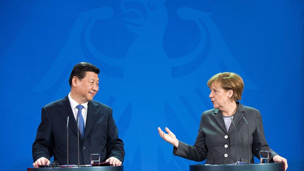Staatsbesuch: Xi Jinping zu Gast in Deutschland