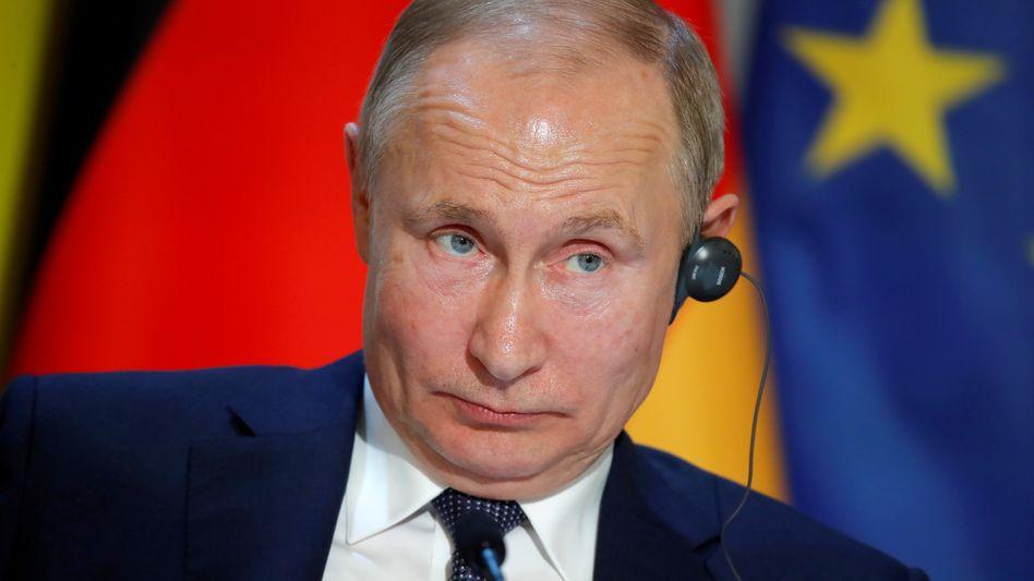 Wladimir Putins Gespräche beim Ukrainegipfel hatten vorerst keinen Einfluss auf die EU-Wirtschaftssanktionen