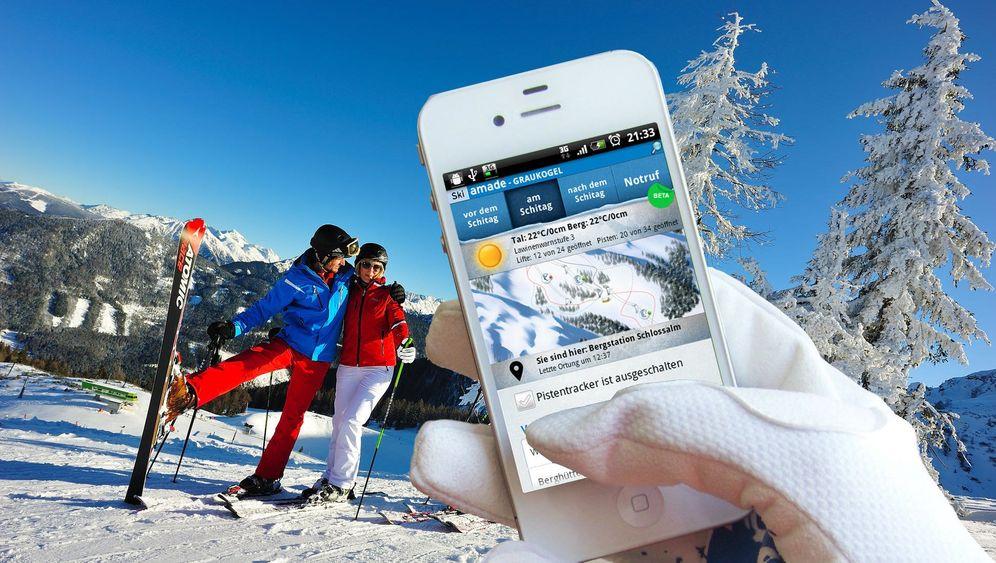 Handy-Tools für Skifahrer: Apps für die Piste
