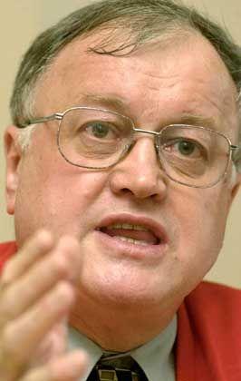 Mann für deftige Worte: SPD-Fraktionsvize Stiegler