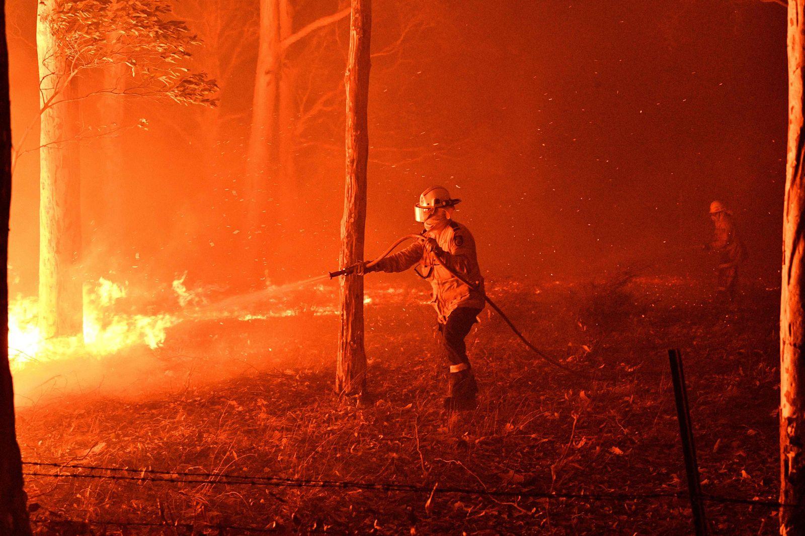 Australien Feuerwehr
