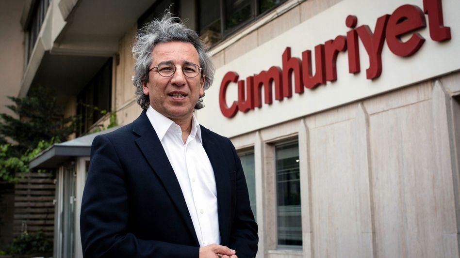"""Can Dündar, Chefredakteur der """"Cumhuriyet"""" (Archivfoto): Von Erdogan angezeigt"""