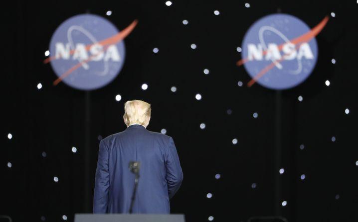 Trump am Kennedy Space Center
