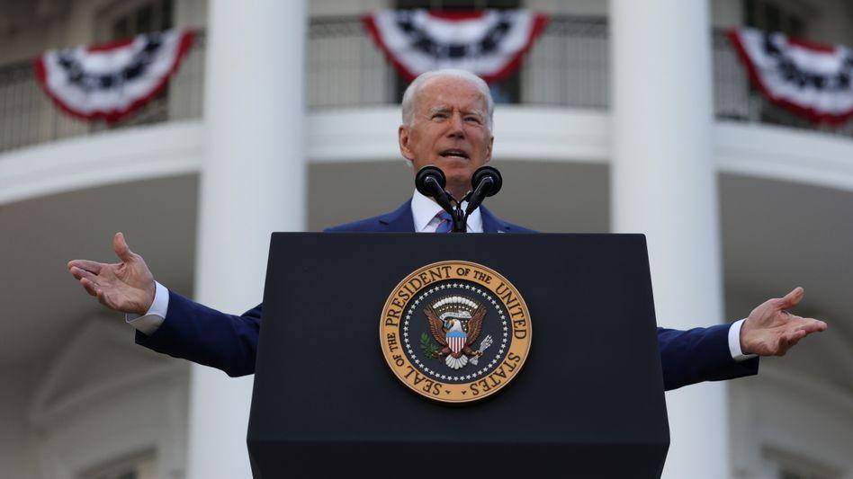 US-Präsident Joe Biden: »Falls Sie noch nicht geimpft sind, tun Sie es«