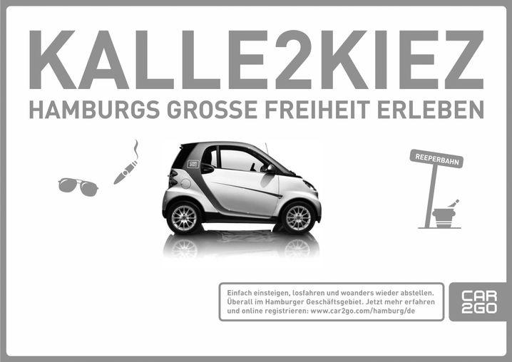 Carsharing-Kampagne von Daimler
