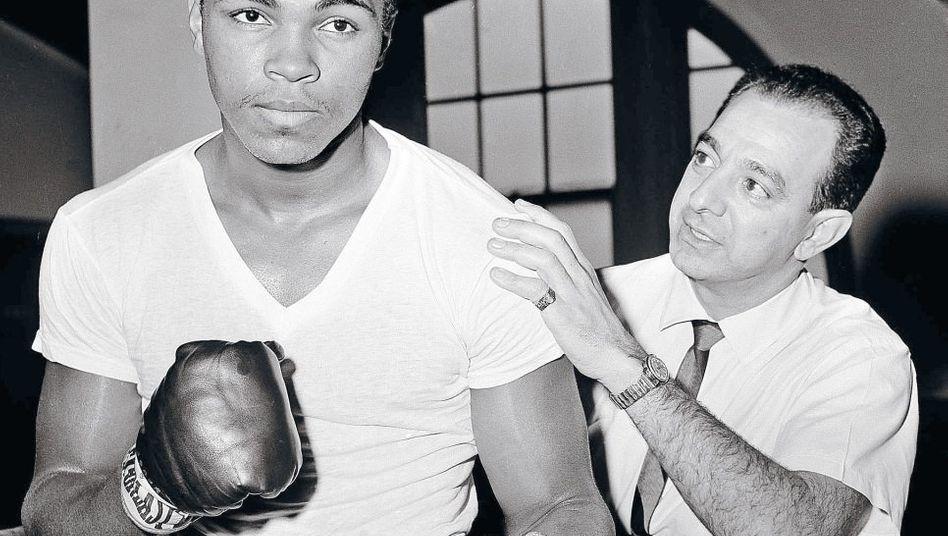 Ali, damals Cassius Clay, Dundee 1962