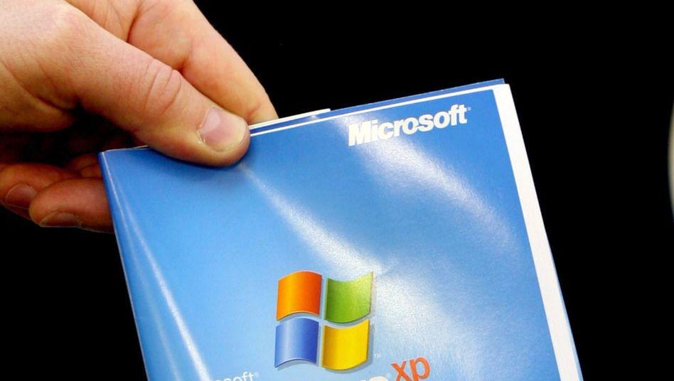 XP-Verpackung: In drei Monaten setzen sich Nutzer einem höheren Risiko aus