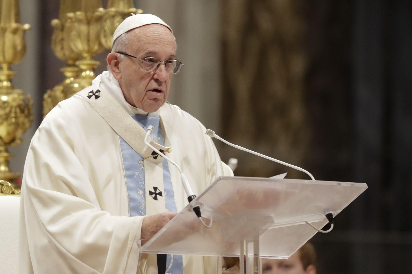 Papst/ Neujahrsansprache