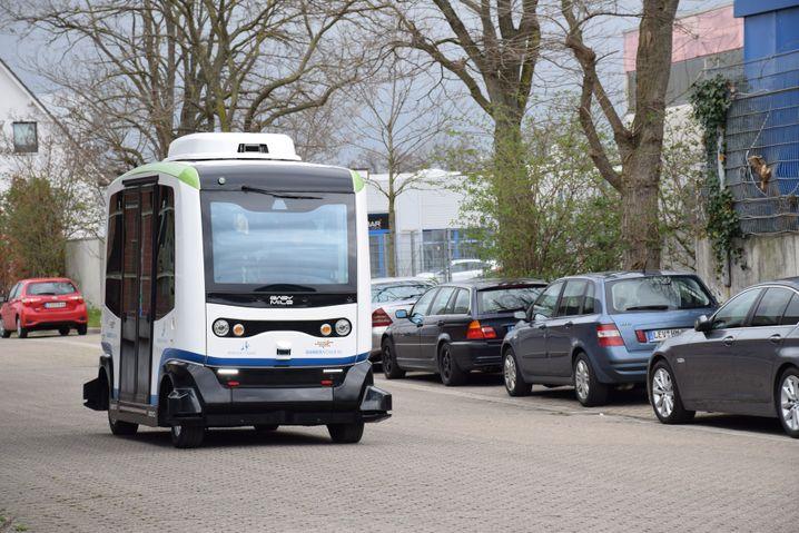 Im Straßeneinsatz: Die Stadt Monheim will die Busse im Linienverkehr fahren lassen