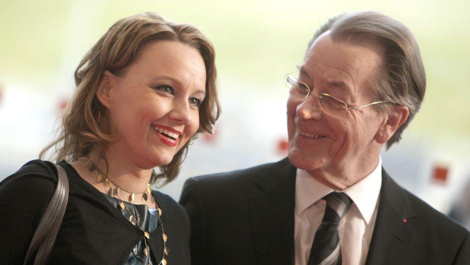 Der frühere SPD-Vorsitzende Müntefering, seine Frau Michelle: Ziel Bundestag