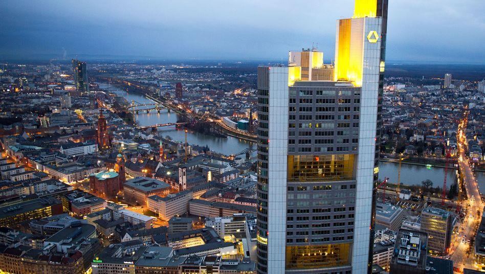 Commerzbank-Hauptsitz in Frankfurt am Main (Archivbild):