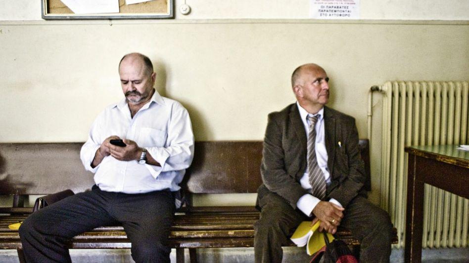 Prozessgegner Kostas, Hoppe in Heraklion, Kreta