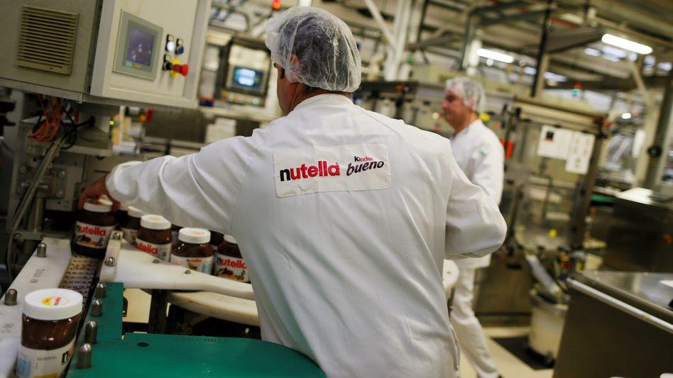 Ferrero-Fabrik in Villers-Écalles, Frankreich