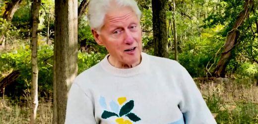 Bill Clinton meldet sich per Video zurück