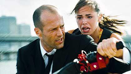 "Szene aus ""Transporter 2"" (mit Jason Statham, l.): Sympathischer Charakter"