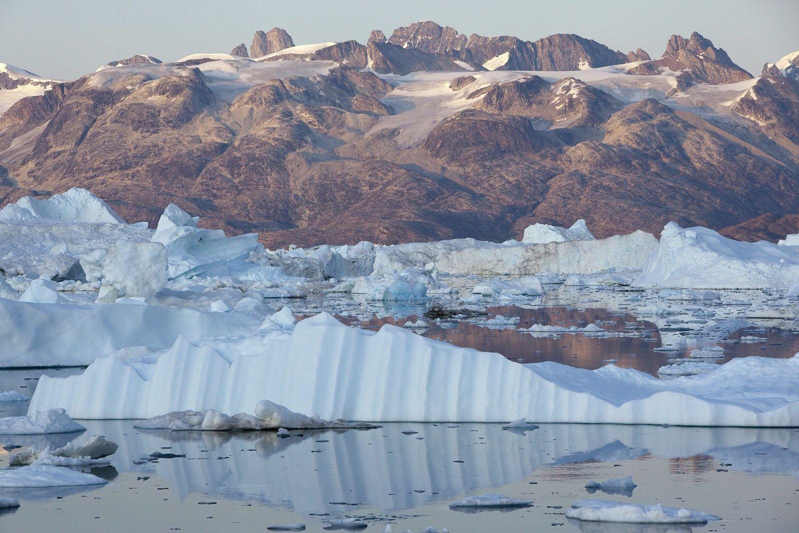 Grönland / Helheim Gletscher