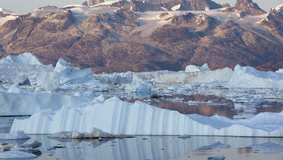 Grönland: Das Meereis schmilzt, Permafrostböden tauen auf
