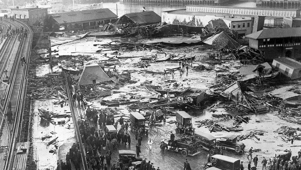Bostoner Sirupflut: Leichen unter Zuckerguss