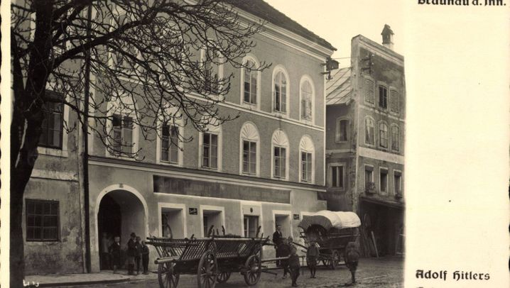 Streit in Braunau: Kneipe, Schule, Hitlerhaus