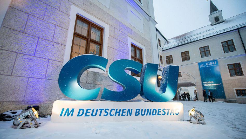 Im bayerischen Kloster Seeon trifft sich ab Montag die CSU-Landesgruppe zur Winterklausur (Archivbild von 2019)