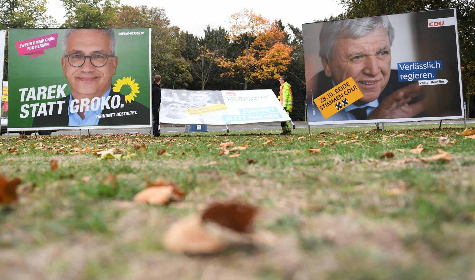Nach der Landtagswahl in Hessen