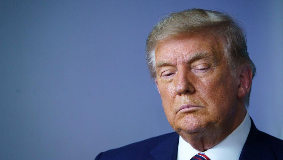 Donald Trump ist mit seiner Wahlniederlage nicht einverstanden, will sie nun aber anerkennen