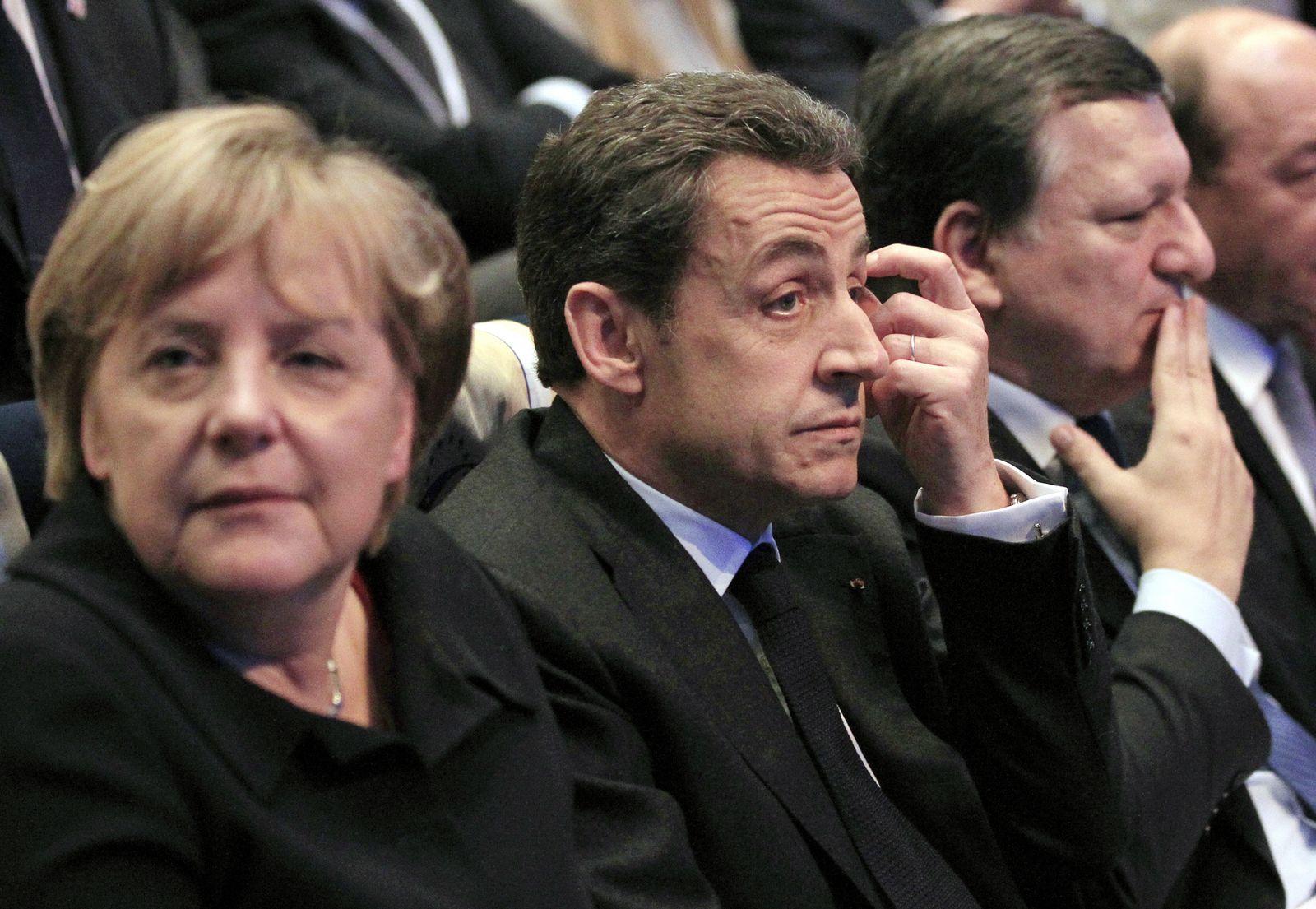 Merkel / Sarkozy / Barroso